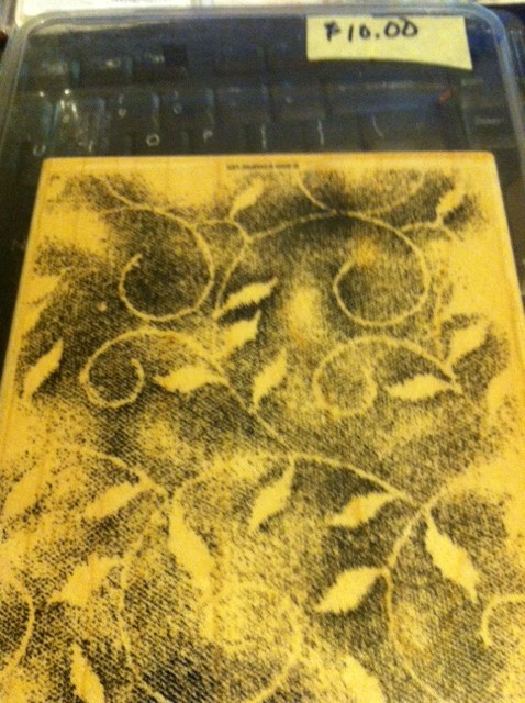 Background Stamp -- Fine Lace
